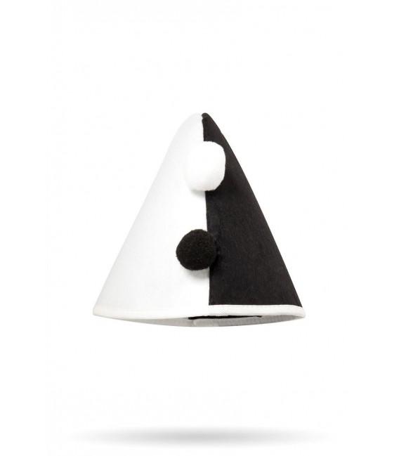 Harlekin Kegelhut schwarz/weiß - AT14458 - Bild 1 Großbild