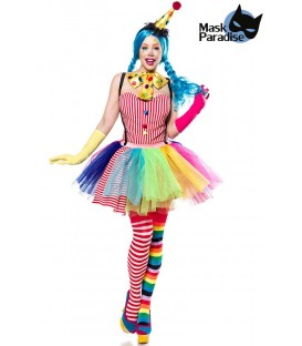 Clown Girl bunt - AT80128 - Bild 1