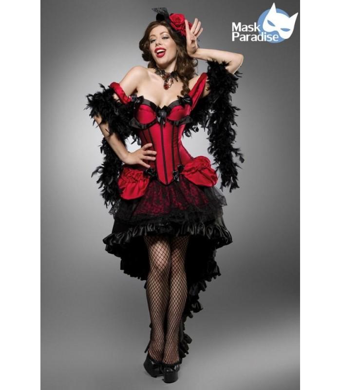 e117a87f99e4cb Burlesque Saloon Girl schwarz/rot - AT80118 - FashionMoon