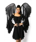 Flügel des Todes schwarz - AT14815