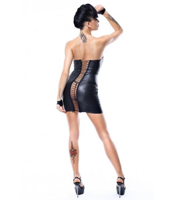 schwarzes Minikleid Heidi von Demoniq Hard Candy Collection Bild 3