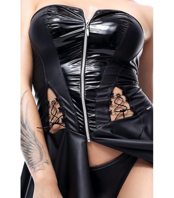 schwarzes Minikleid Rita von Demoniq Hard Candy Collection Bild 2