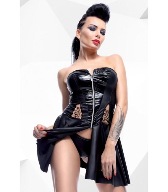 schwarzes Minikleid Rita von Demoniq Hard Candy Collection Bild 3