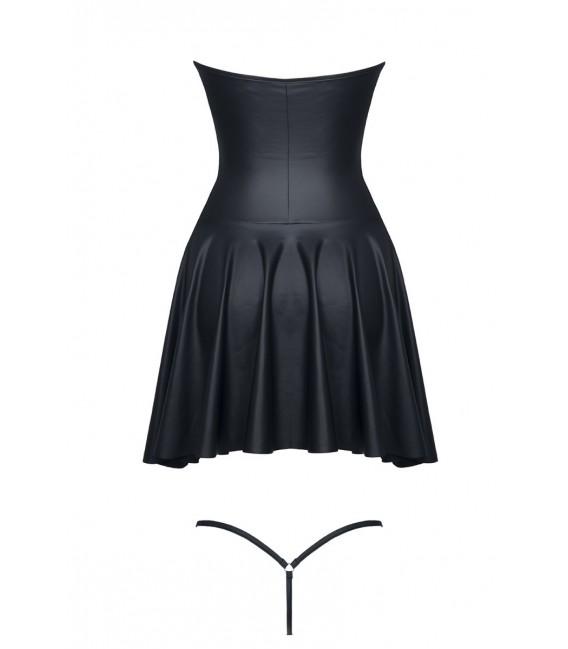 schwarzes Minikleid Rita von Demoniq Hard Candy Collection Bild 6