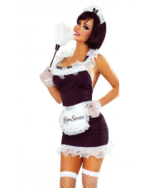 7-teiliges Maid Dress von Provocative Bild 1