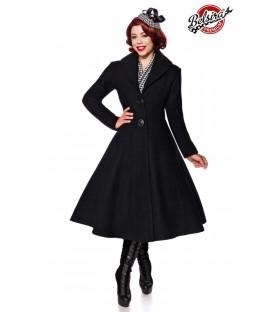 Belsira Premium Wollmantel schwarz - AT50132 - Bild 1