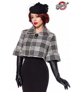 Belsira Premium Wolljäckchen schwarz/weiß - AT50135 - Bild 1
