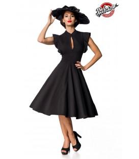 Belsira Premium Vintage-Kleid schwarz - AT50152 - Bild 1
