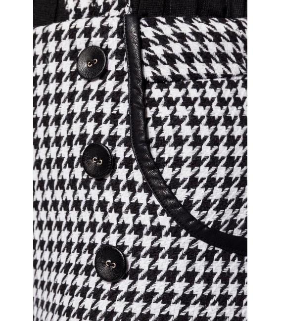Belsira Premium Marlenehose schwarz/weiß - AT50177 - Bild 4