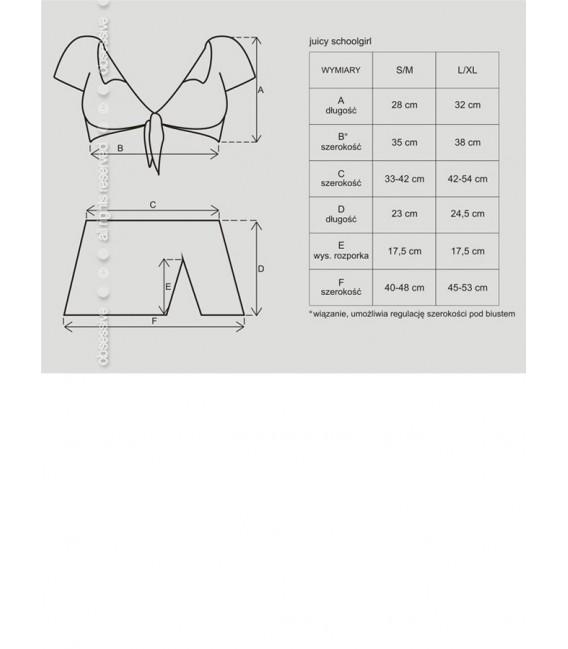 Juicy Schoolgirl Kostüm Bild 4