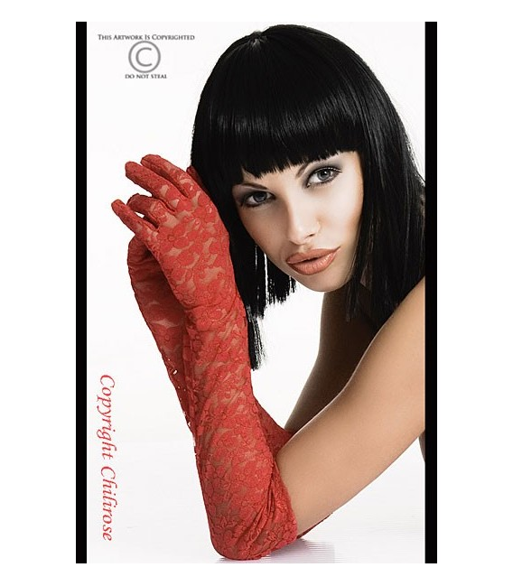 Handschuhe rot CR3071