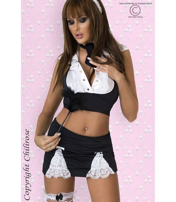 Hausmädchen-Outfit CR3124 Bild 3