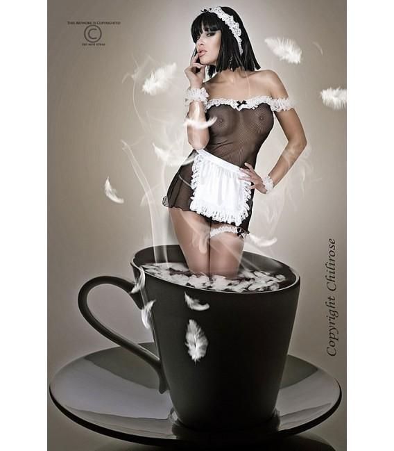 Hausmädchen-Kostüm CR3136 Bild 2