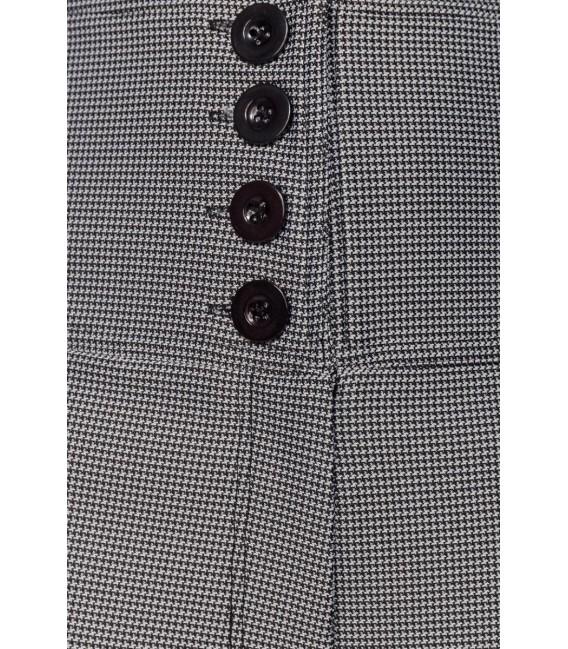 Großbild Marlenehose schwarz/weiß - Bild 6