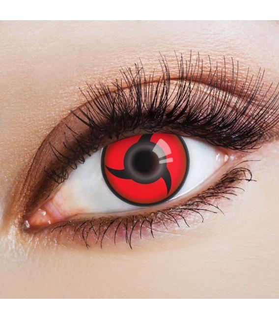 Itachis Mangekyou Sharingan - farbige Kontaktlinsen ohne Stärke Bild 1 Großbild