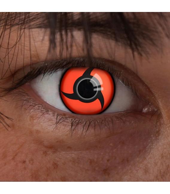 Itachis Mangekyou Sharingan - farbige Kontaktlinsen ohne Stärke Bild 2 Großbild