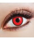 Red Devil - farbige Kontaktlinsen ohne Stärke