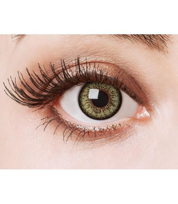 Green Passion - farbige Kontaktlinsen ohne Stärke Bild 1 Großbild