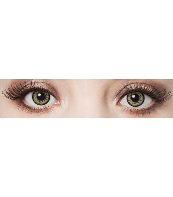 Green Passion - farbige Kontaktlinsen ohne Stärke Bild 3 Großbild