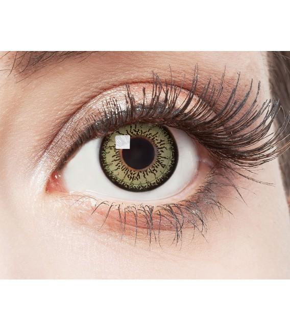 Green Passion - farbige Kontaktlinsen ohne Stärke Bild 2 Großbild