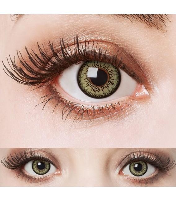 Green Passion - farbige Kontaktlinsen ohne Stärke Bild 4 Großbild
