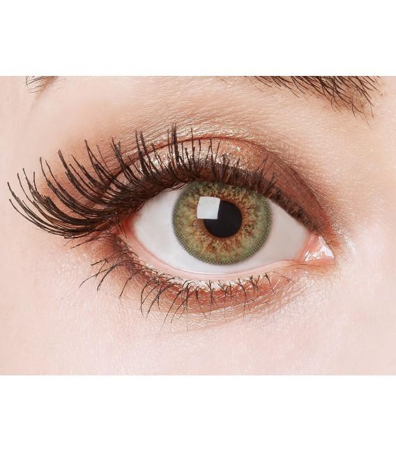 Green Glamour - farbige Kontaktlinsen ohne Stärke Bild 1 Großbild