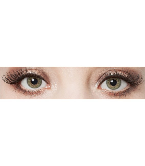 Green Glamour - farbige Kontaktlinsen ohne Stärke Bild 3 Großbild