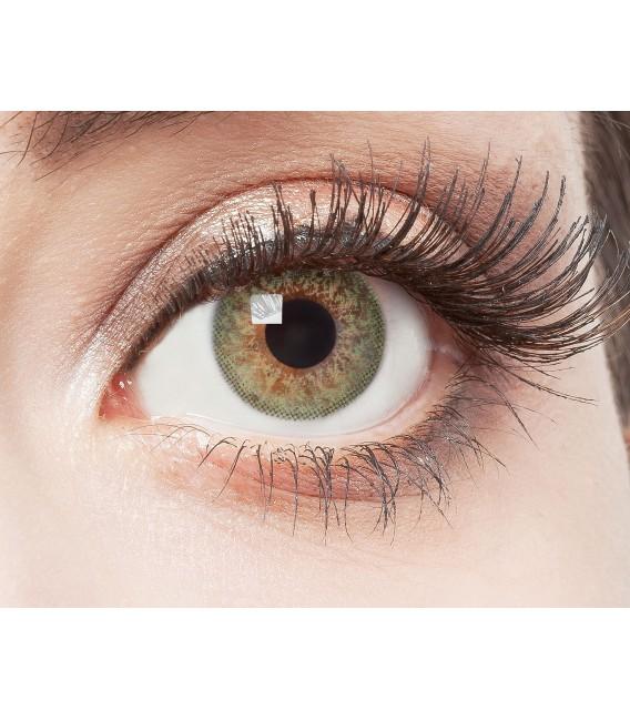 Green Glamour - farbige Kontaktlinsen ohne Stärke Bild 2 Großbild