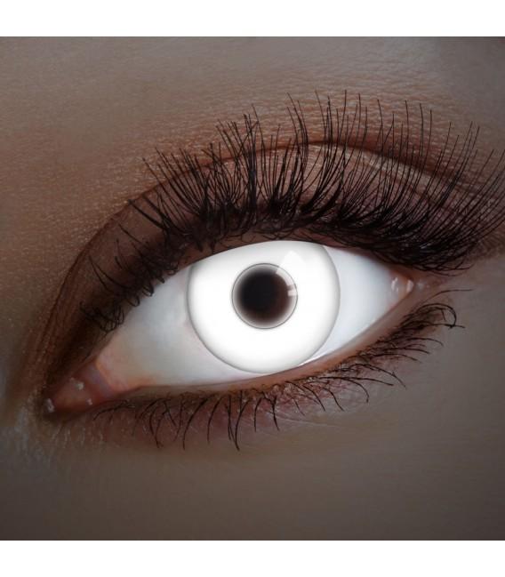 UV Snow White - farbige Kontaktlinsen ohne Stärke Bild 1 Großbild