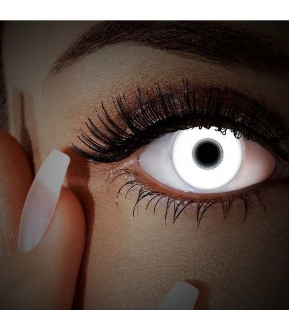 UV Snow White - farbige Kontaktlinsen ohne Stärke Bild 3 Großbild