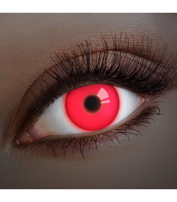 Großbild UV Red In Your Eyes - Kontaktlinsen ohne Stärke Bild 1