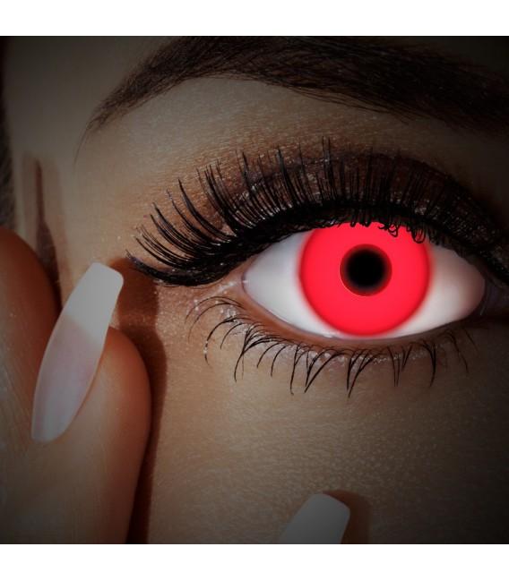 Großbild UV Red In Your Eyes - Kontaktlinsen ohne Stärke Bild 3