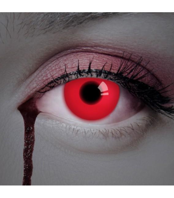 Großbild UV Red In Your Eyes - Kontaktlinsen ohne Stärke Bild 2