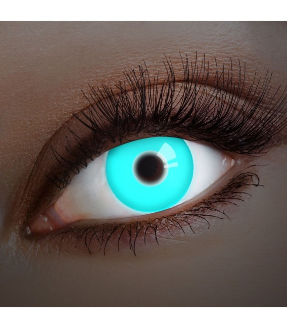 Großbild UV Deep Blue - Kontaktlinsen ohne Stärke Bild 1