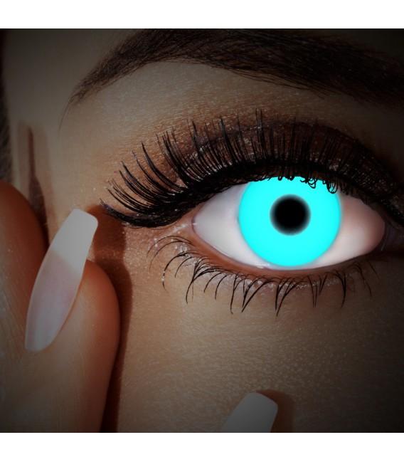 Großbild UV Deep Blue - Kontaktlinsen ohne Stärke Bild 3