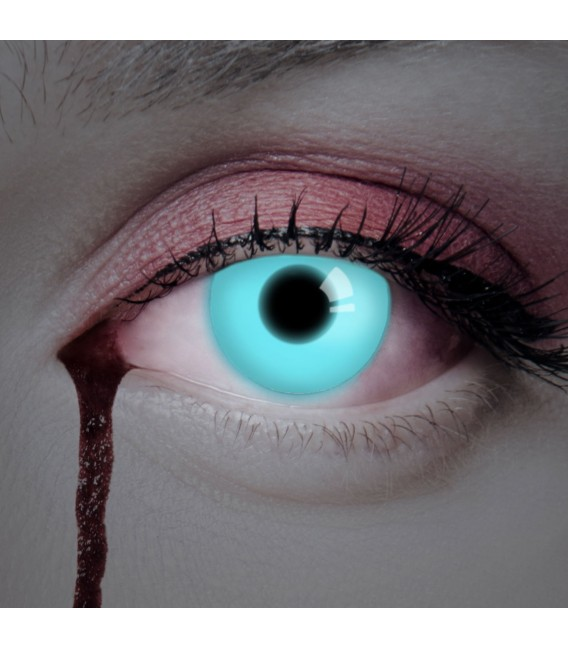 Großbild UV Deep Blue - Kontaktlinsen ohne Stärke Bild 2