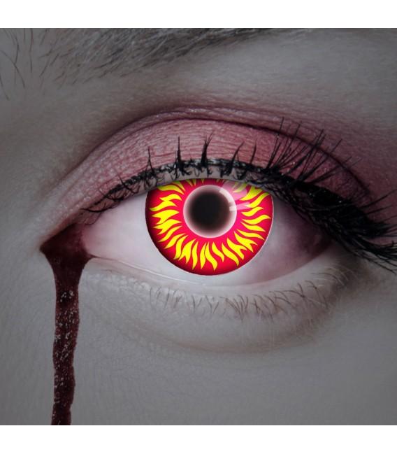 Großbild UV Fire In Your Eyes - Kontaktlinsen ohne Stärke Bild 2