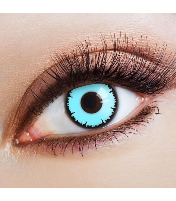 Blue Vampire - Kontaktlinsen ohne Stärke Bild 1 Großbild