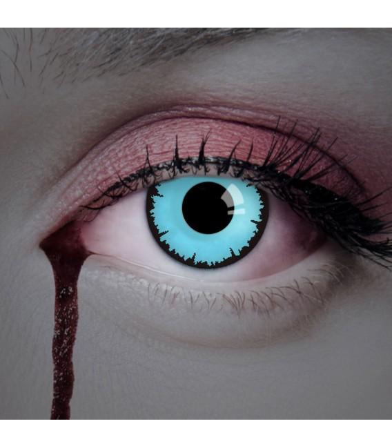 Blue Vampire - Kontaktlinsen ohne Stärke Bild 2 Großbild