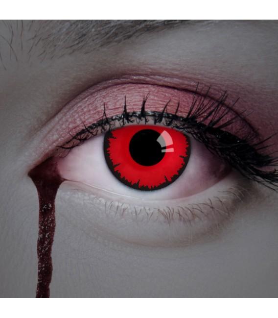 Scary Vampire - Kontaktlinsen ohne Stärke Bild 2 Großbild