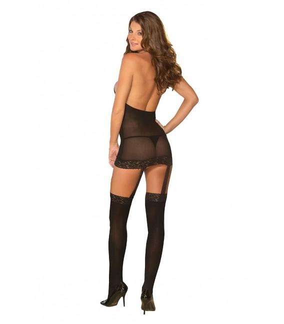 Kleid DR0035 schwarz Bild 4