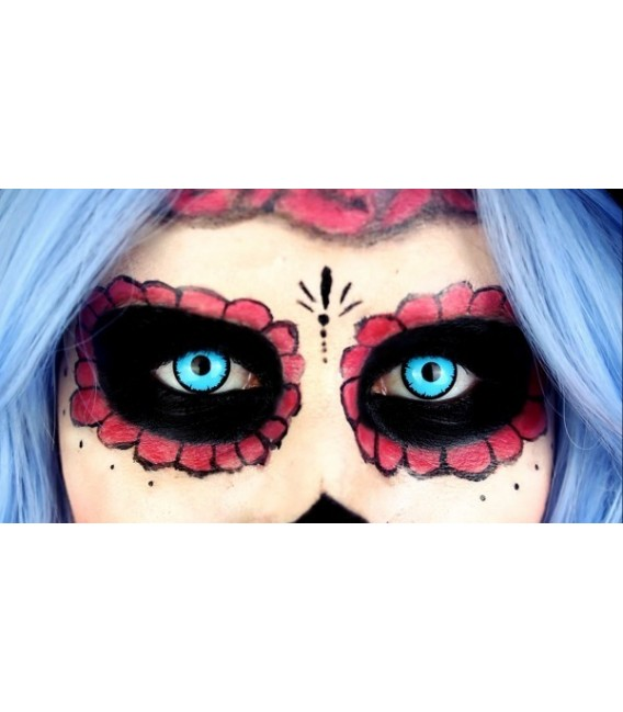 Blue Vampire - Kontaktlinsen ohne Stärke Bild 3 Großbild