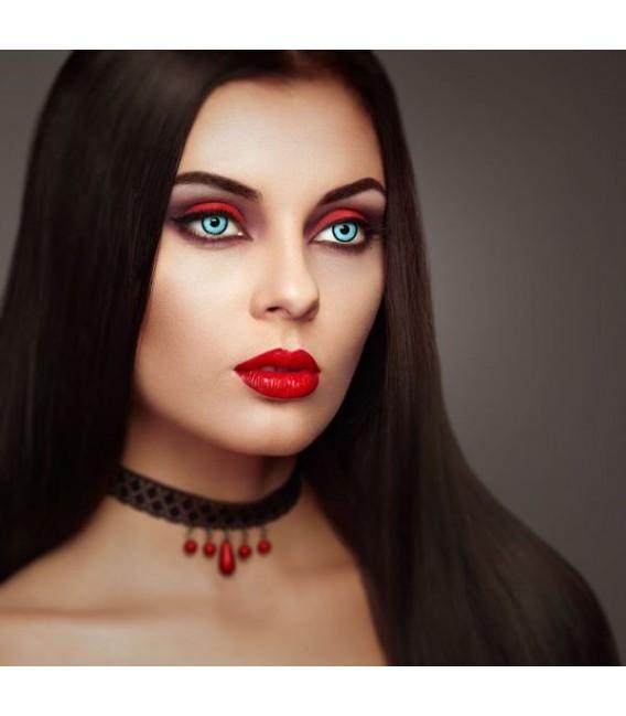 Blue Vampire - Kontaktlinsen ohne Stärke Bild 4 Großbild