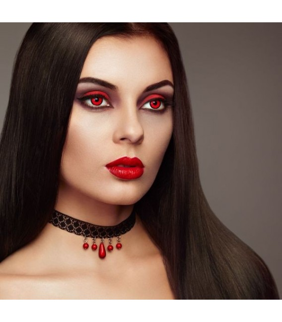 Scary Vampire - Kontaktlinsen ohne Stärke Bild 3 Großbild