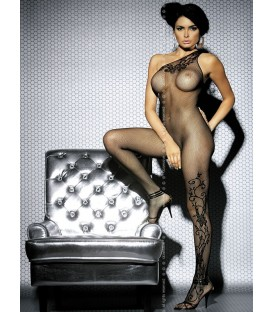 Bodystocking F203 schwarz