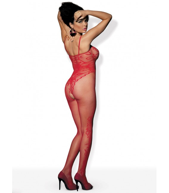 Bodystocking F205 rot Bild 4