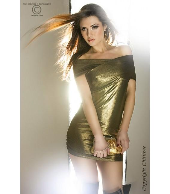 Minikleid CR3335 gold