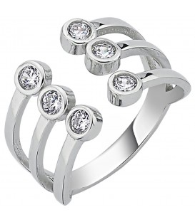 Damen Ring offen 925 Sterling 52426