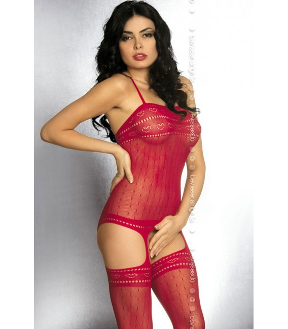 Bodystocking G303 rot Bild 3