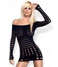 Rocker Dress schwarz